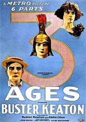 Filmplakat zu Die drei Zeitalter