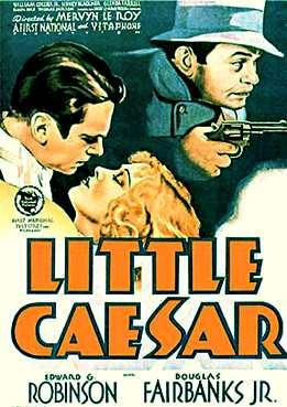 Filmplakat zu Little Caesar
