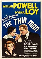 Filmplakat zu The Thin Man