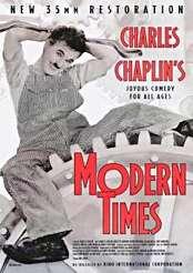 Filmplakat zu Modern Times