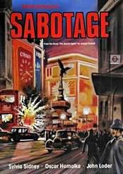 Filmplakat Sabotage