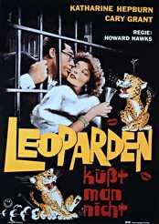 Filmplakat Leoparden küsst man nicht
