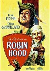 Filmplakat Die Abenteuer des Robin Hood