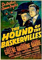 Filmplakat zu The Hound of the Baskervilles