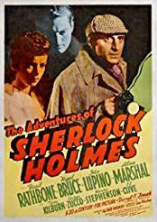 Filmplakat zu The Adventures of Sherlock Holmes