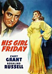 Filmplakat zu His Girl Friday