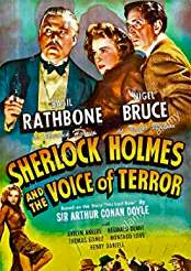 Filmplakat zu Sherlock Holmes and the Voice of Terror