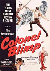 Filmplakat zu The Adventures of Colonel Blimp