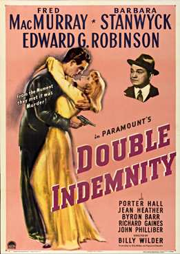 Filmplakat zu Double Indemnity