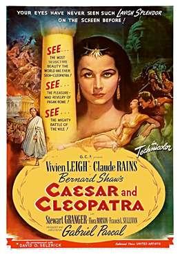 Filmplakat zu Caesar and Cleopatra