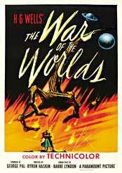 Filmplakat zu The War of the Worlds