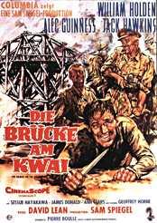 Filmplakat zu Die Brücke am Kwai