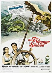 Filmplakat zu Sindbads siebente Reise