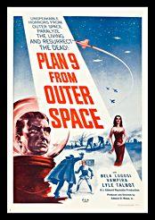 Filmplakat zu Plan 9 from Outer Space