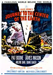 Filmplakat zu Journey to the Center of the Earth