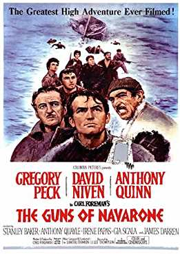 Filmplakat zu The Guns of Navarone