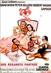 Filmplakat Der rosarote Panther