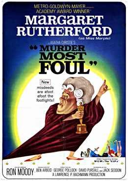 Filmplakat zu Murder Most Foul