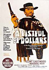 Filmplakat zu A fistful of Dollars