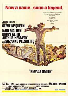 Filmplakat Nevada Smith