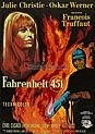 Filmplakat Fahrenheit 451