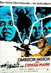 Filmplakat Der Omega-Mann