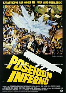 Filmplakat zu Die Höllenfahrt der Poseidon