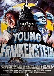 Filmplakat zu Frankenstein Junior
