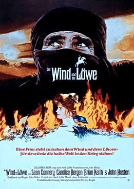 Filmplakat zu Der Wind und der Löwe