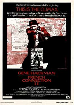 Filmplakat zu French Connection II