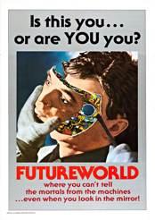 Filmplakat Futureworld – Das Land von Übermorgen