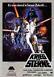 Filmplakat Krieg der Sterne