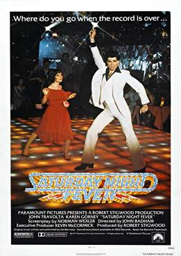 Filmplakat zu Saturday Night Fever