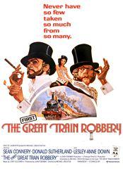 Filmplakat zu Der erste große Eisenbahnraub