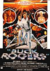 Filmplakat zu Buck Rogers