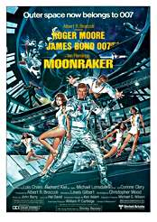 Filmplakat James Bond 007 – Moonraker – Streng geheim