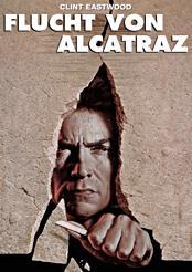 Filmplakat zu Flucht von Alcatraz