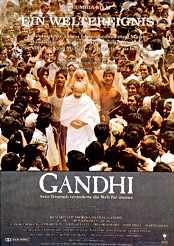 Filmplakat zu Gandhi