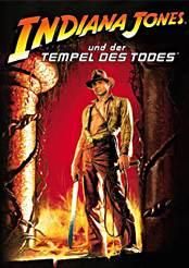 Filmplakat zu Indiana Jones und der Tempel des Todes