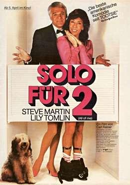 Filmplakat zu Solo für zwei