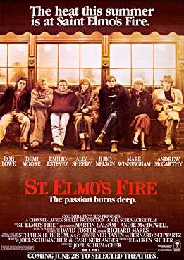 Filmplakat zu St. Elmo's Fire