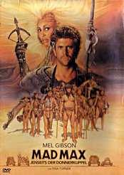 Filmplakat zu Mad Max - Jenseits der Donnerkuppel