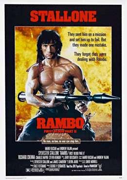 Filmplakat zu Rambo 2