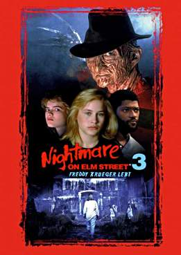 Filmplakat Nightmare 3 – Freddy lebt