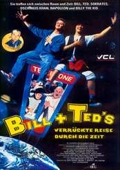 Filmplakat zu Bíll und Teds verrückte Reise durch die Zeit