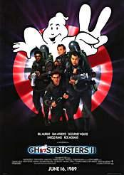 Filmplakat Ghostbusters II