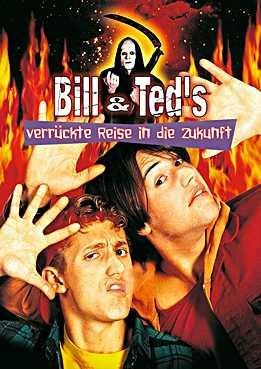 Filmplakat zu Bill und Teds verrückte Reise in die Zukunft