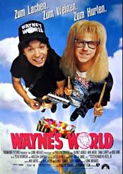 Filmplakat Wayne's World