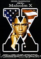 Filmplakat zu Malcolm X