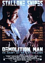 Filmplakat Demolition Man